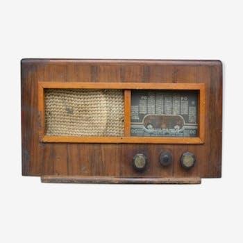 Poste de radio 1940