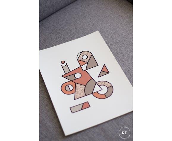 Affiche A3 - #005 - Série numérotée