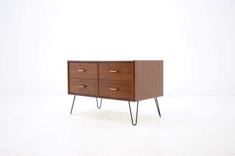 Commode en teck danoise 1960