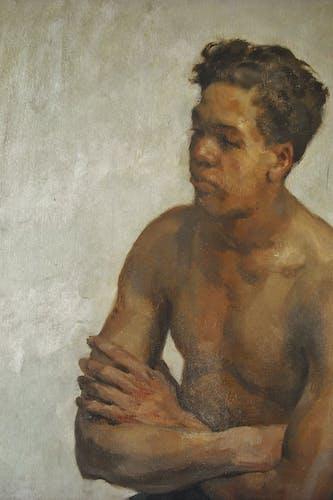 Portrait Van Beylen 119 x 88cm