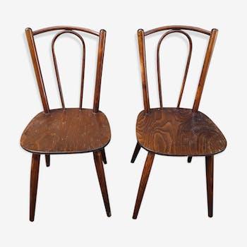 Deux chaises bistrot