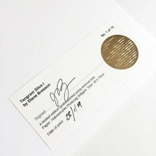 Tangram Slice XI - 50x70cm