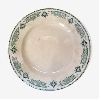 Longwy dish green Rivoli