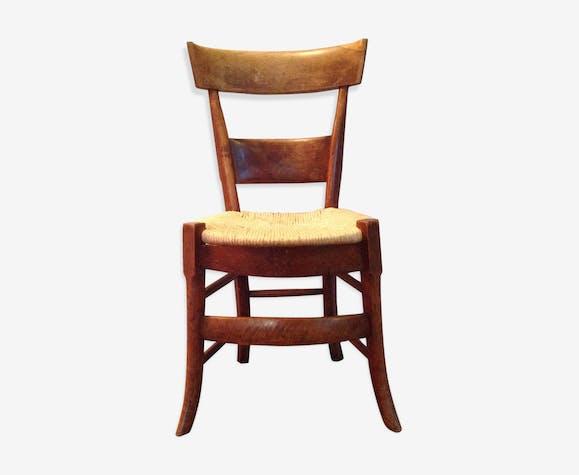 Chaise bois ancienne