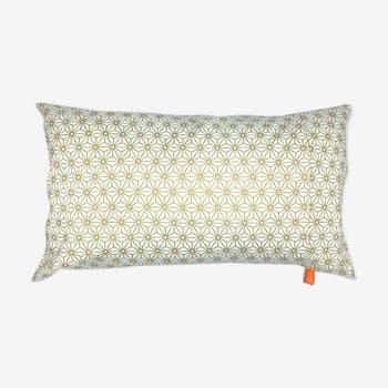 Tokyo gold cushion