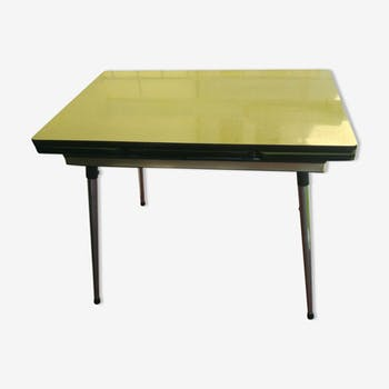 In early 1960s formica kitchen table