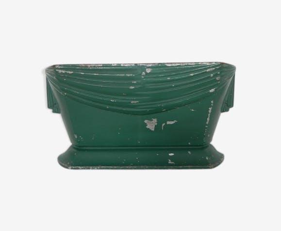 Vasque de jardin Art Déco en fonte - fonte - vert - vintage ...