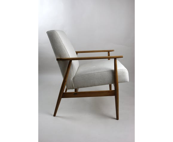 Vintage like fox easy chair in beige from the 1970s
