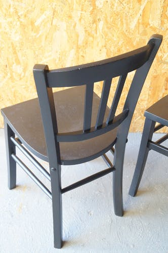 Pair of bistro chairs 1950