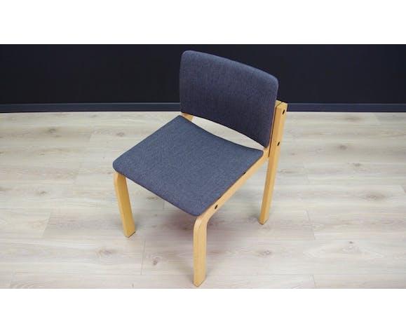 Ensemble de six chaises Fritz Hansen des années 60/70