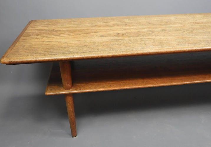Table basse vintage scandinave Elsteds Mobelfabrik 1960