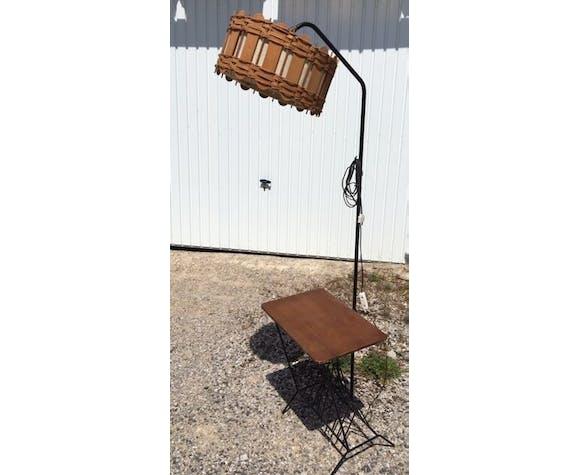 Vintage metal floor lamp