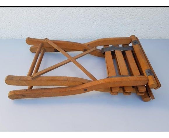 Old folding stool