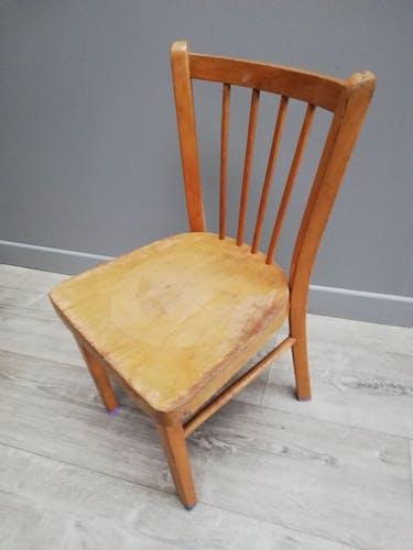 Chaise bois enfant Baumann