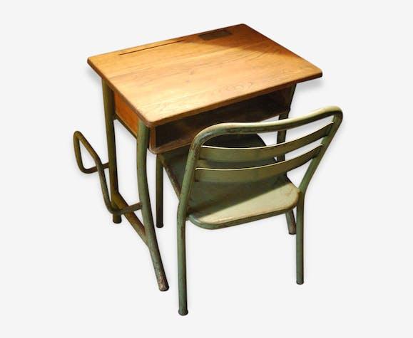 Bureau Dcolier Et Chaise Type Tolix