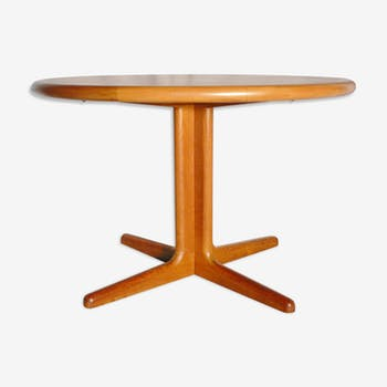 Table de salle manger vintage d 39 occasion for Table scandinave ronde rallonge