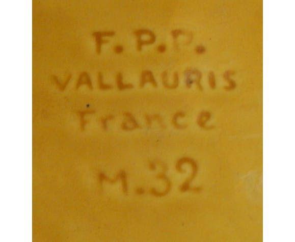 Ancienne coupe vallauris
