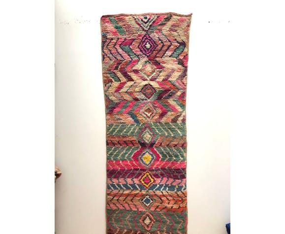Tapis berbère marocain boujaad 350x90cm