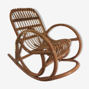 Rattan rocking chair  for child