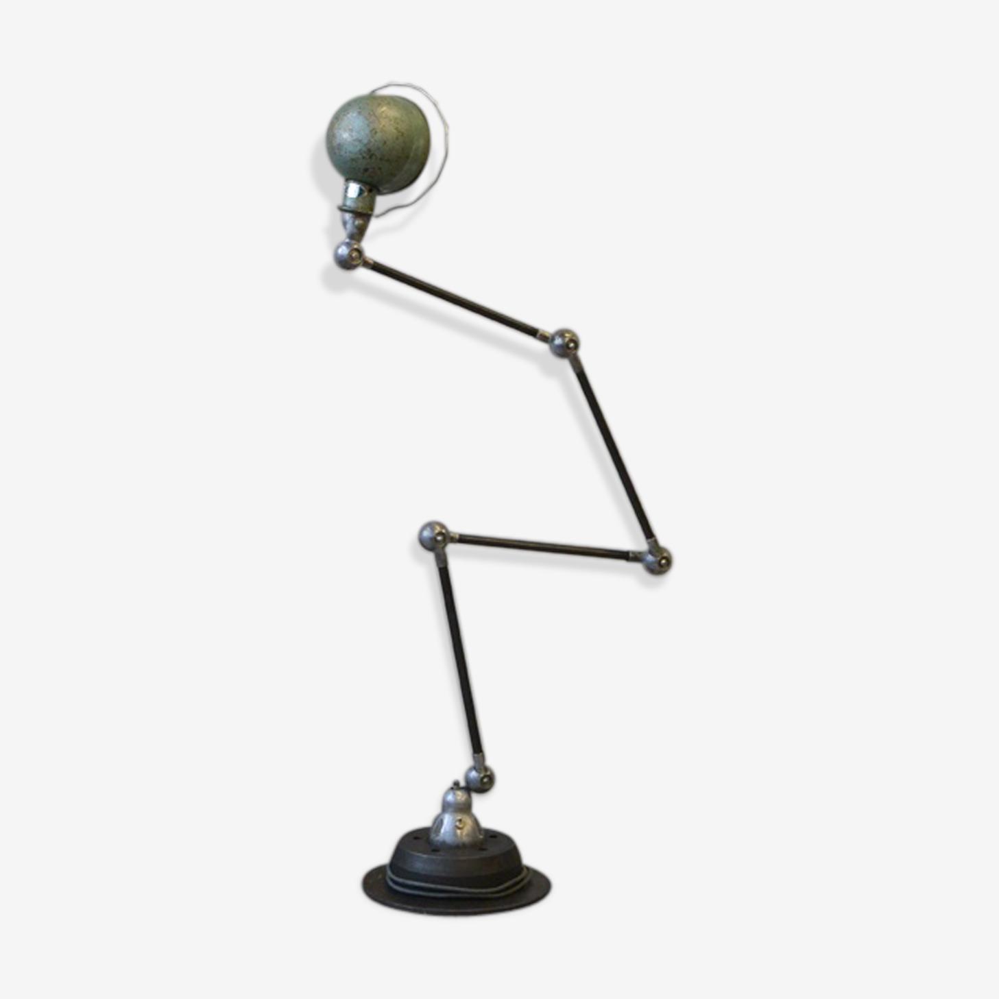 Lampe Jld Jielde Metal Gris Industriel Qkr582b