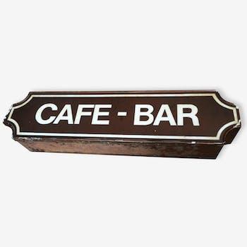 "Enseigne ""CAFE - BAR"" lumineuse"