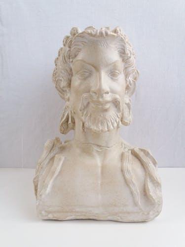 Buste Hermès bicéphale