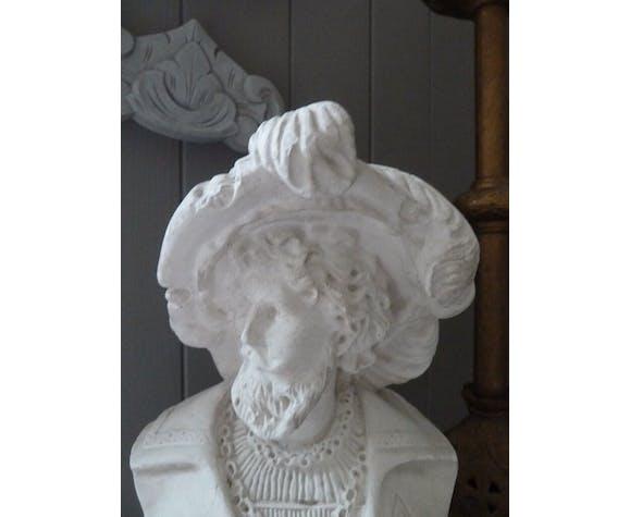 Buste plâtre Faust