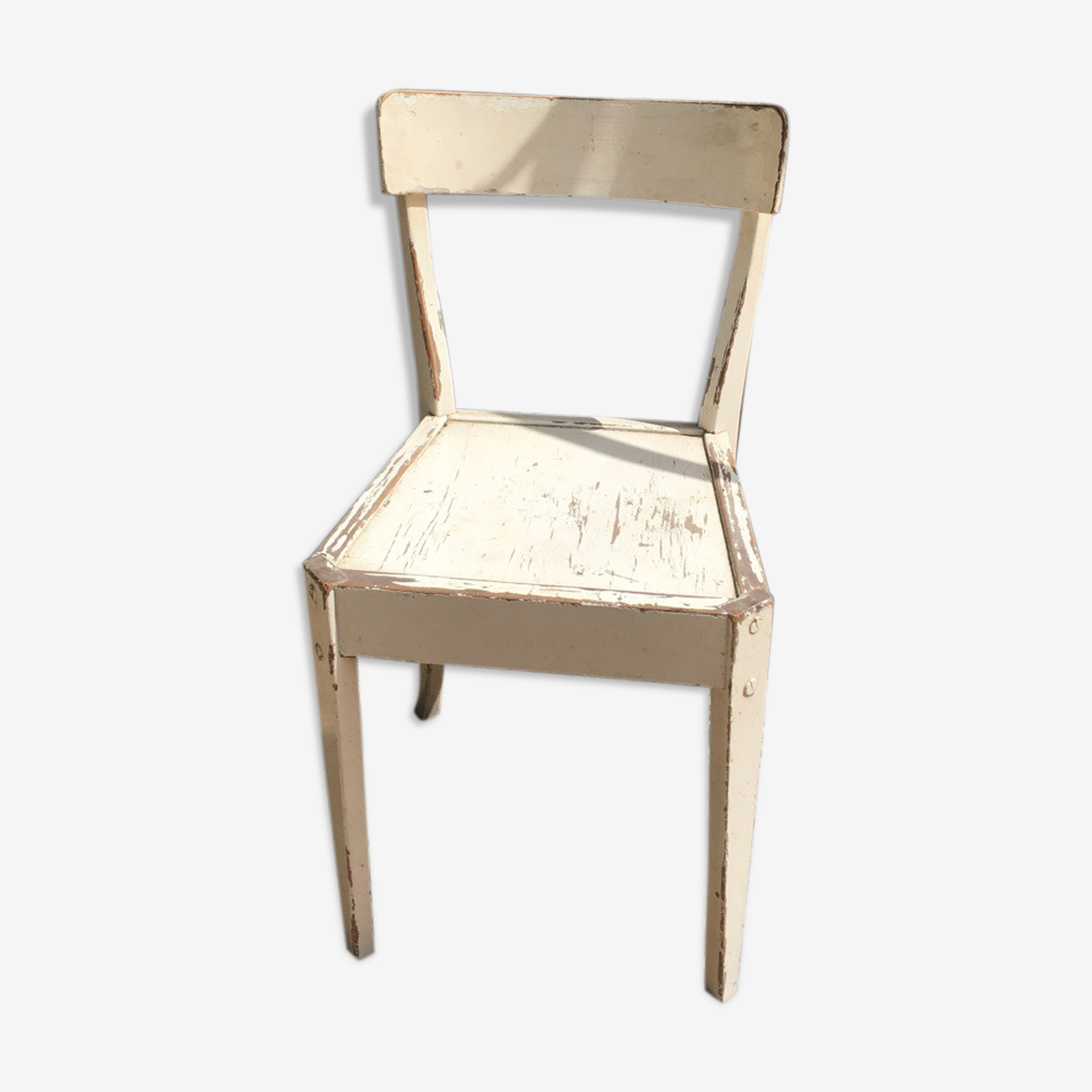 Bistro chair in wood
