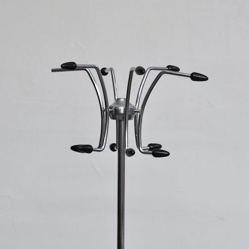 Standing Modernist Coat Hanger with Umberella Stand, 1970s