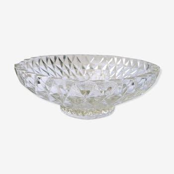 Vacuum chiseled glass trinket bowl 70