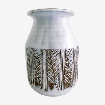 Vase vintage Les Argonautes ceramics