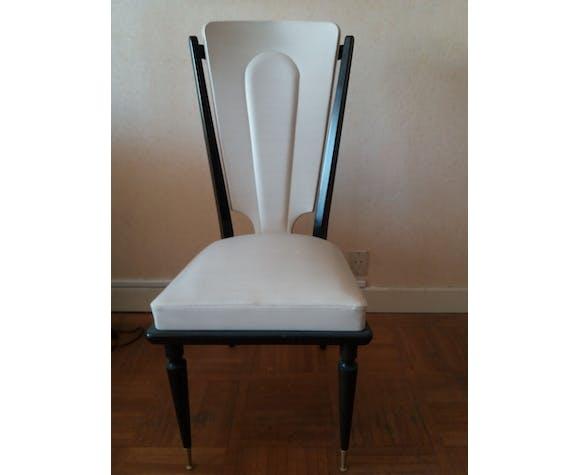 Table et 6 chaises ébène de maccassar