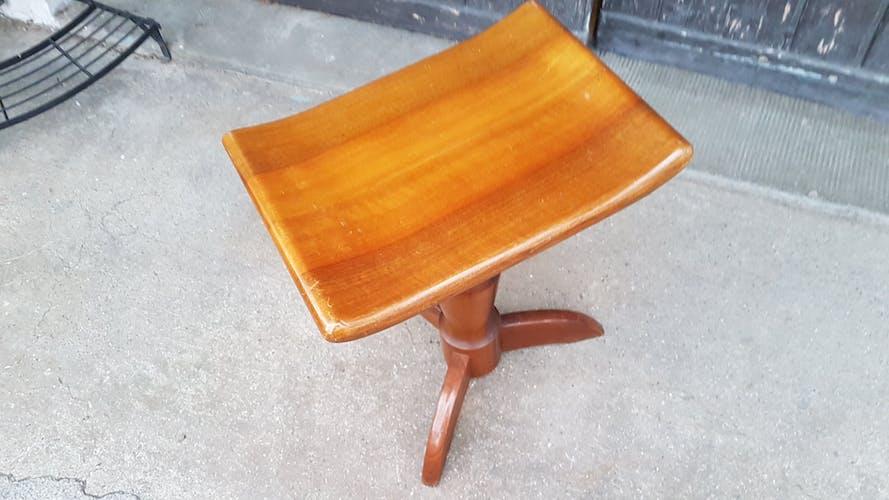 Piano stool to screw the 1950s Girsberger Switzerland