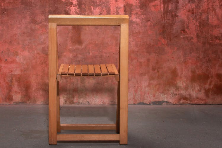 Lot de 40 chaises pliantes Aldo Jacober pour Alberto Bazzani , années 60