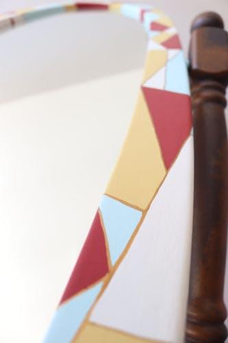Miroir sur pied - psyché coloré - 170x50cm