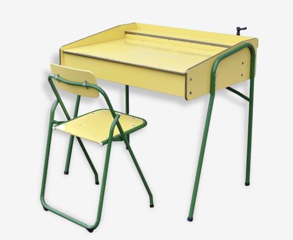 Chaise Bureau Vintage Pieds Enfant 6070 Design Compas Adulte rxChsQtd