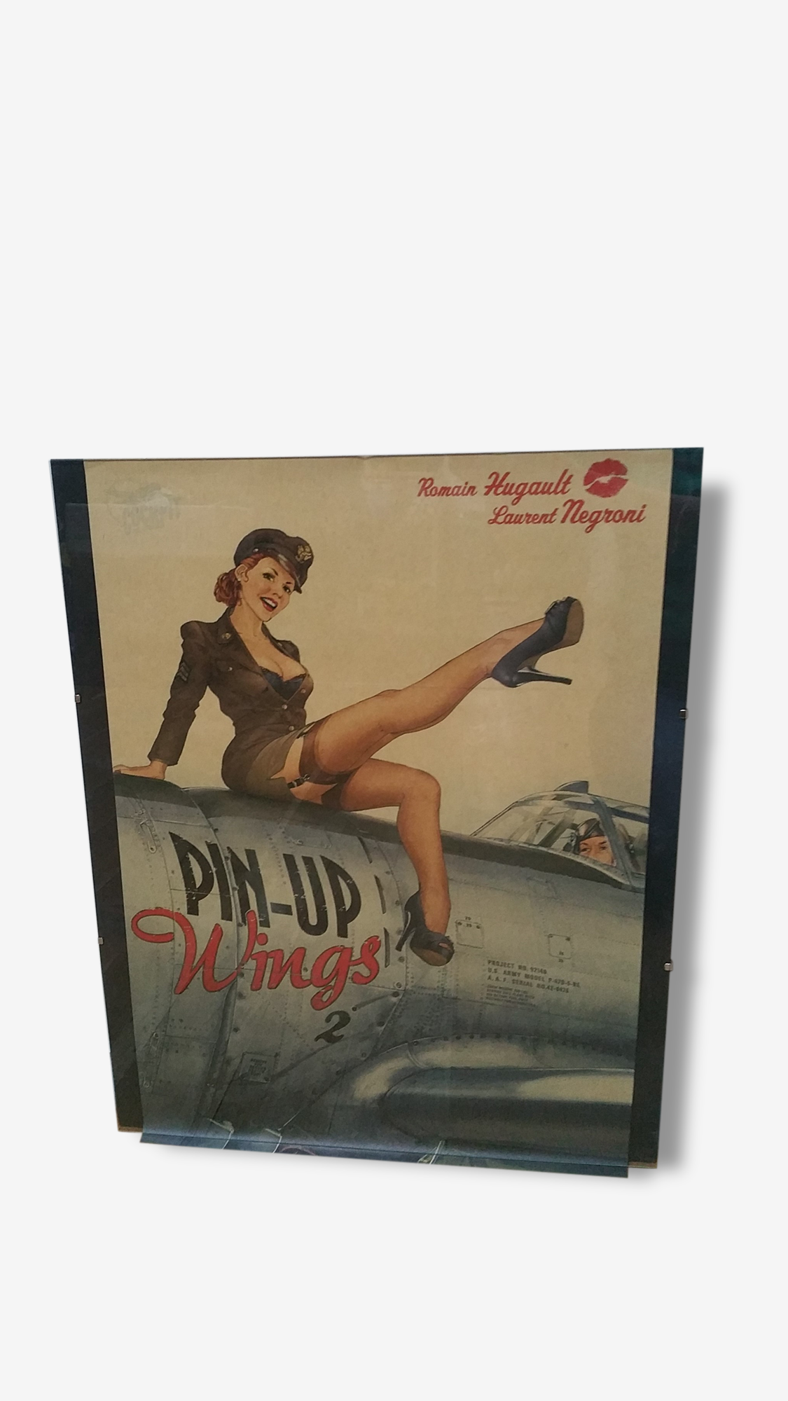 Affiche pin up