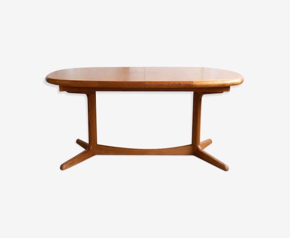 Table scandinave teck clair