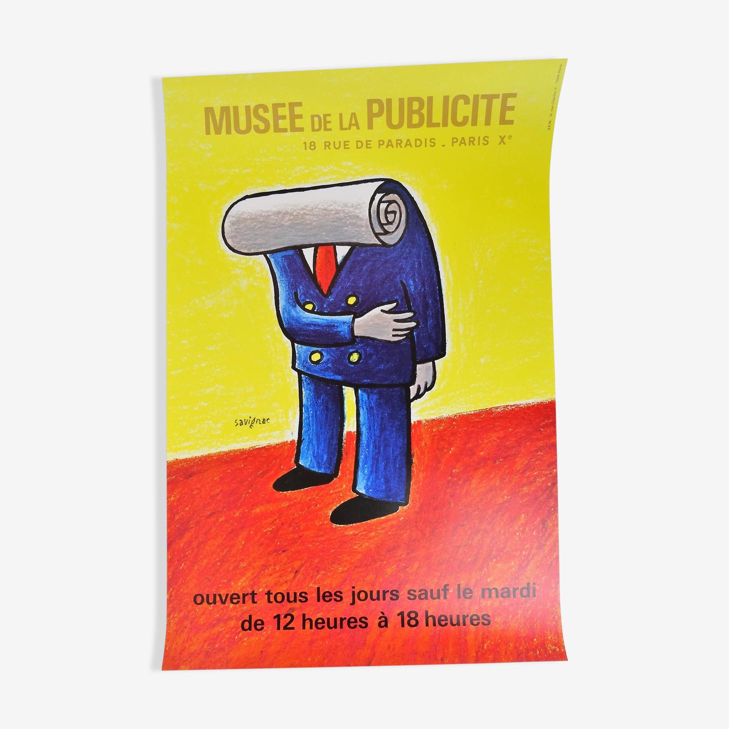Musée de la publicité affiche Savignac
