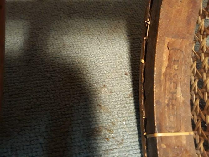 Paire de chaises bistro anciens Fischel