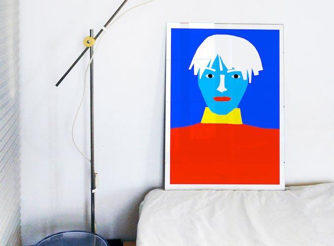 Portrait, tirage d'art