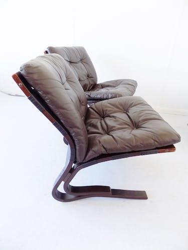 Ensemble fauteuil et chaises Kengu
