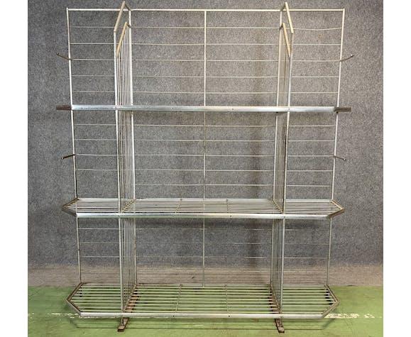 Art Deco wrought iron bakery grid - 1930s