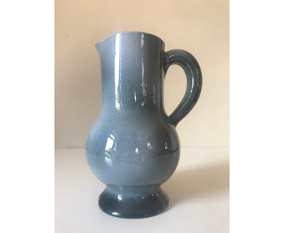 Ceramic Accolay vintage decanter from the 60's