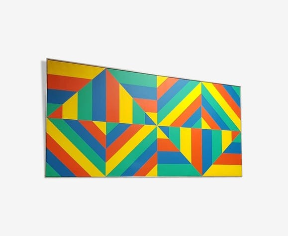 Oil painting E.J. Monroy, 1978