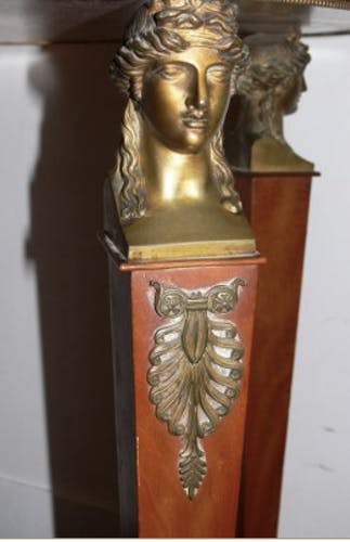 Empire pedestal table