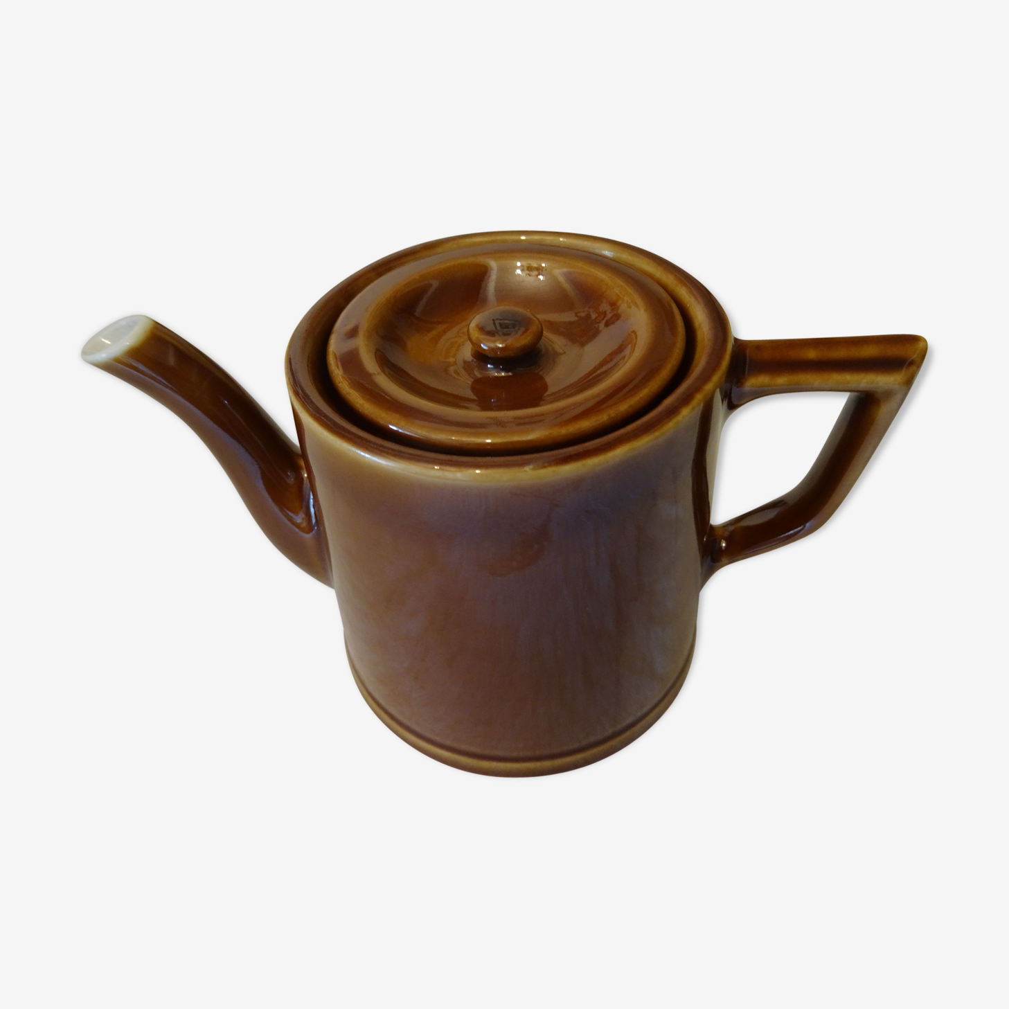 Vintage teapot in faience