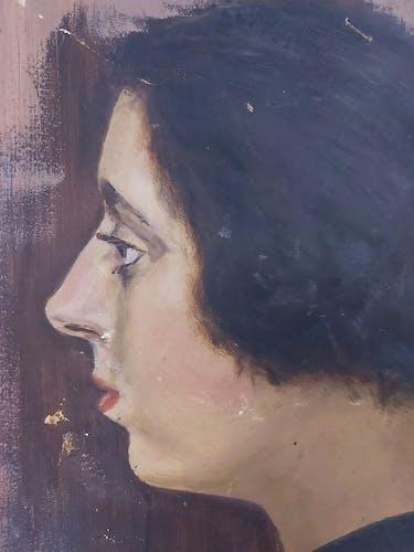 Portrait féminin de français