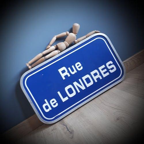 Plaque rue de Londres