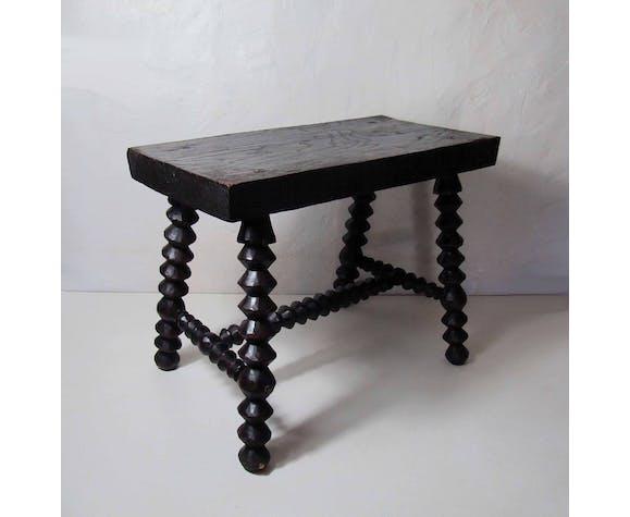 Breton folk art stool